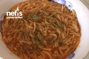 Kekikli Şehriye Çorbası Tarifi