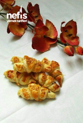 Kahvaltıya Şip Şak Çikolatalı Croissant (Kruvasan)