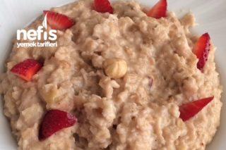 Aşırı Tok Tutan Porridge (Yulaf Lapası) Diyete Uygun Tarifi