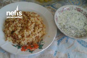 Bulgur Pilavı Ve Cacık (Gaziantep) Tarifi