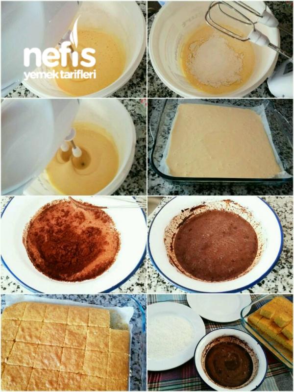 İngiliz Keki (Lokum Kek )