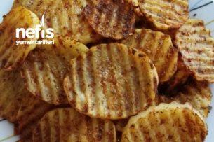 Tavuk Baharatlı Patates Cipsi Tarifi
