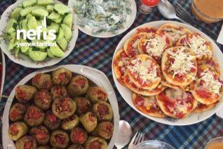 Lokum Pizza Tarifi