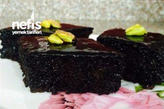 Bol Çikolatalı Islak Kek (Browni Tadında) Tarifi