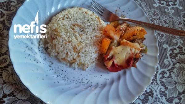 Firinda Tavuk Patates