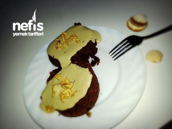 Tahinli Damla Çikolatalı Kek