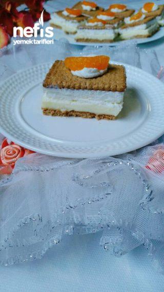 Pudingli Bisküvili Hafif Pasta