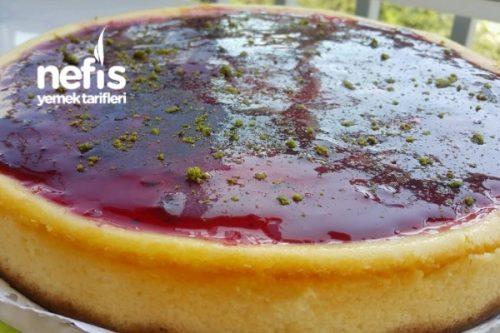 Kırmızı Meyveli Soslu Cheesecake - Nefis Yemek Tarifleri