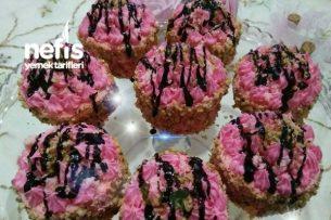 Nişastalı Pembe Pastalar Tarifi