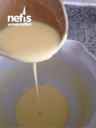 Zerdeçalı Sütsüz Krep