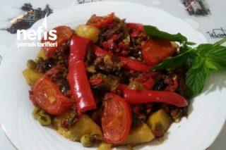 Sebzeli Patates Tava Tarifi