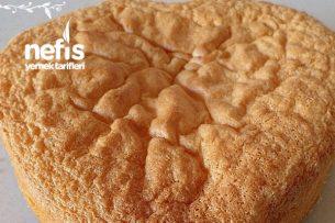 Yumuşacık Sade Pasta Keki (Pandispanya) Tarifi