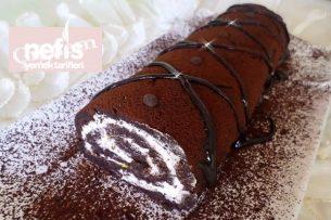 Çikolatalı Kolay Rulo Pasta Tarifi