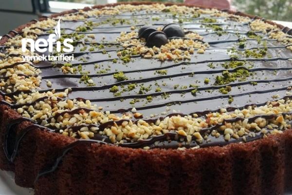 Çikolatalı Tart Kek (videolu) Tarifi
