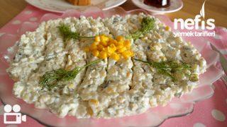 Yoğurtlu Yıldız Şehriye Salatası (Gün Masalarına) Tarifi