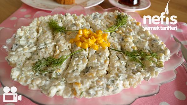 Makarna Salatası Tarifi Videosun