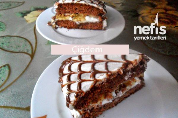 Hazır Pasta Kekiyle Pratik Pasta Tarifi