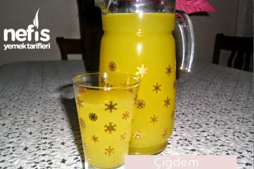 1 Portakal 1 Limon ile Limonata Tarifi 80