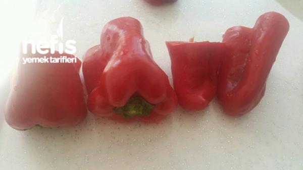 Kırmızı Biber Dolması Videosu