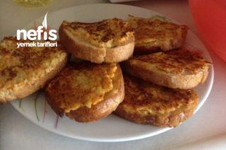 Kahvaltıya Çok Lezzetli Ekmekcikler Tarifi