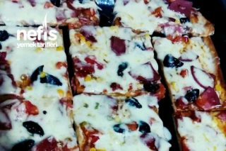 Nefis Pizzam (Mutlaka Deneyin) Tarifi