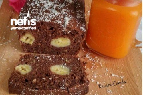 Fındıklı Muzlu Islak Kek Tarifi - Nefis Yemek Tarifleri