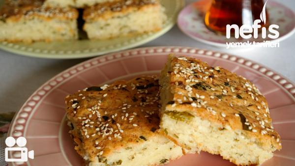 Şipşak Peynirli Tepsi Çöreği (Simit Tadında) Videosu Tarifi