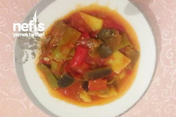 Nefis Zeytinyağlı Patlıcan Yemeği Tarifi