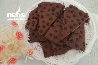 Parça Çikolatalı Dev Kurabiye Tarifi
