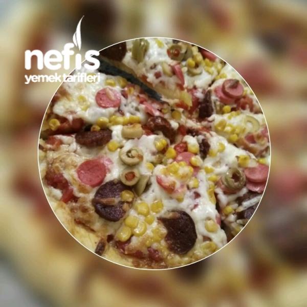 Ev Yapımı Nefis Pizza