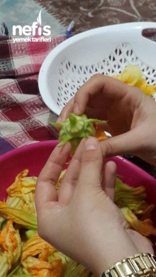 Zeytinyağlı Kabak Çiçeği Dolması