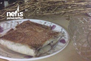 Baklavalık Yufkadan Nutellalı Tost (2 Malzeme, Müthiş Pratik) Tarifi