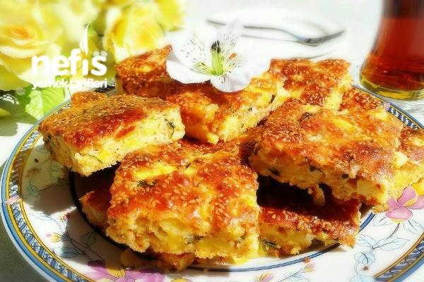Patatesli Kek(Börek Tadında) Tarifi