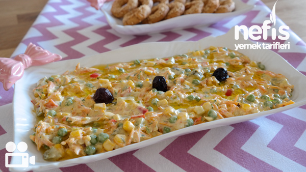 Bezelyeli Havuç Salatası Videosu