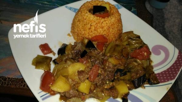 Etli Patlıcan Yemeği (enfes Lezzet)