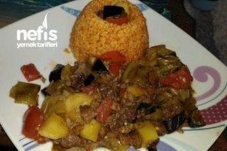 Etli Patlıcan Yemeği (enfes Lezzet) Tarifi