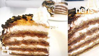 Yumuşacık Waffle Pastası Tarifi Videosu