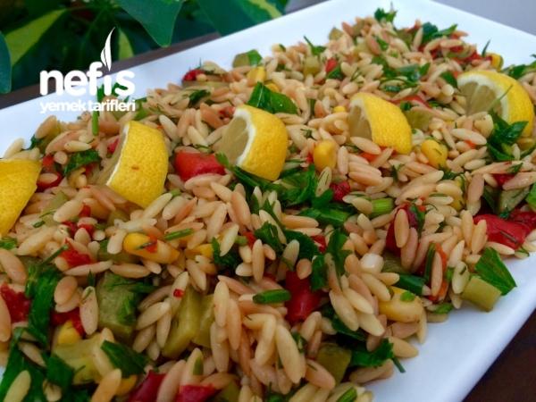 Kavrulmuş Şehriyeli Nefiss Gün Salatası