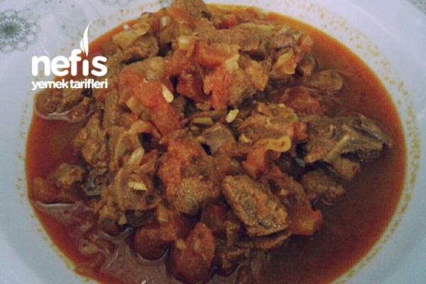 Et Yemeği (Düdüklü Tencerede) Tarifi