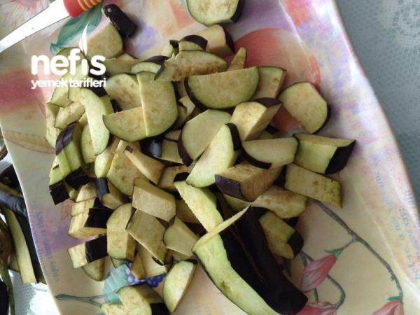 Kışlık Yemeklik Patlıcan Kurutması