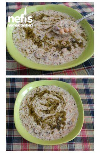 Köfteli Şehriyeli Lebeniye Çorbası