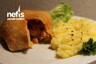 Krep Bohçası (Tavuk Sote İle) Tarifi