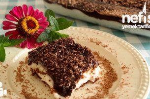Çikolata Soslu Bisküvili Tatlım Videosu Tarifi