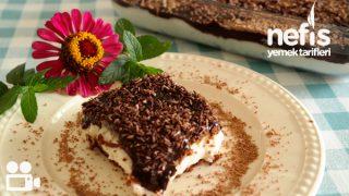Çikolata Soslu Bisküvili Tatlım Videosu