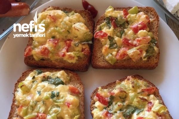 Fırında Kahvaltılık Yumurtalı Ekmek 6
