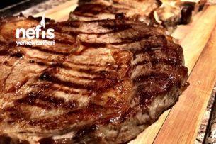 T Bone Steak & Pirzola Izgara Tarifi