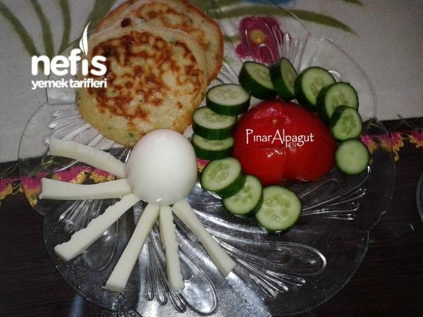 Çocuklar İçin Kahvaltı Tabağı (5-6 Yaş)