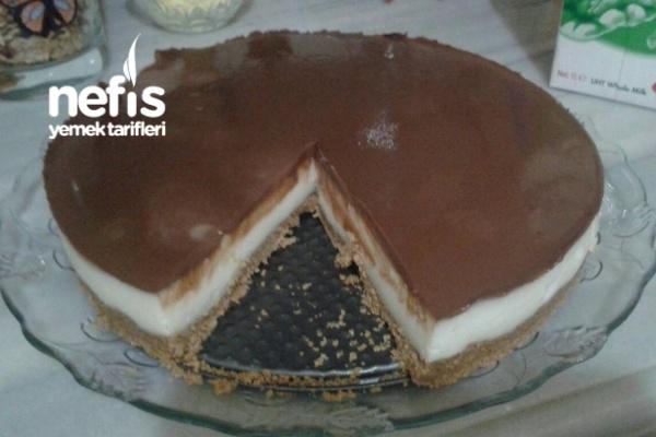 Burçak Bisküvili Ganajlı Harika Pasta Tarifi