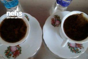 Sodalı Bol Köpüklü Türk Kahvesi Tarifi