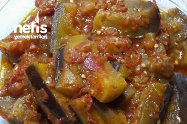 Taze Patlıcan Yemeği Tarifi